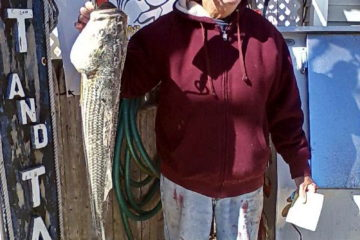 32.75-inch 12-pound Striper Bass