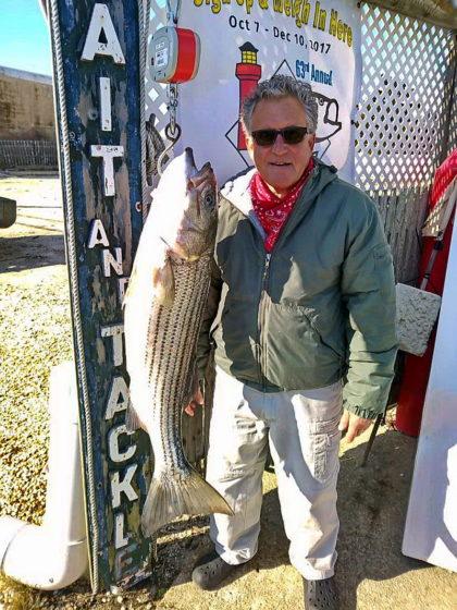 "Striped Bass 39"" 21.04 lbs"