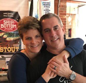 Carole Ann and Steve Palmer